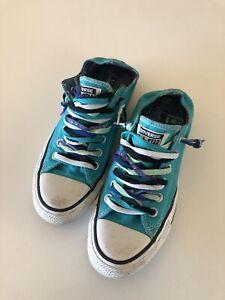Converse Women's Shoes Green size 7