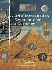 A Brief Introduction to Egyptian Coins and Currency Book~Ancient-Modern Era~NEW