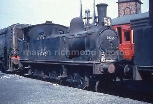 Colour-Rail Slide BRE 940 Hull Alexandra Dock Shed J72 0-6-0T 68745 1959 CR130