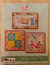 Quilt pattern Sunday Ride Mini by Cherry Blossoms