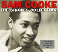 SAM COOKE - SINGLES COLLECTION 3 CD NEU
