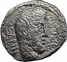 Roman Republic Titurius,Sabinus King Tatius Ancient Silver Coin Very rare i33544