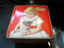 LOVELY VINTAGE 1950s JACOB & CO BISCUIT TIN