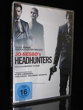 DVD HEADHUNTERS - Thriller - Produzenten von VERBLENDUNG VERDAMMNIS VERGEBUNG **