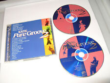 100% Pure Groove 2 (2 cd 1996- 34 TRACKS-OLD SKOOL!  2 cd Ex Condition