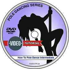 How To Pole Dance Intermediate DVD Quick & Easy Lessons Pole Dancing Success