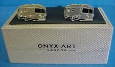 CUFFLINK SET - TOURING CARAVAN - IDEAL MENS GIFT OR CLUB PRIZE FOR TOURERS CK712