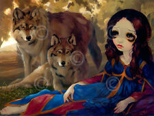ART PRINT - I Vampiril Lupi by Jasmine Becket-Griffith 14x11 Gothic Poster