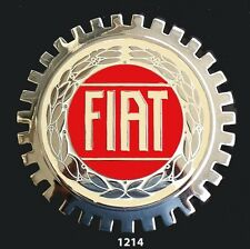 CAR GRILLE EMBLEM BADGES - FIAT