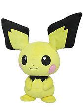 Official Pokemon Pichu Plush Doll by SANEI Nintendo Poke Toy Gift 2016