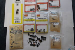 Nn3 or Z Scale Model Train Parts