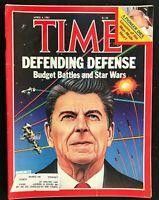 TIME Magazine - Apr 4 1983 - REAGAN'S STAR WARS / Nicaragua's Contra War / Franc