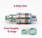 Star 430 SWL Titan 5 Hole Fiber Optic Dental Swivel Coupler USA Stock Quick Ship