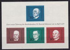 Briefmarken aus der BRD (1960-1969) mit Politiker-Motiv