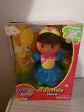 Dora The Explorer Fairytale Adventure Dora Fisher Price New NIP Nick Jr Figure