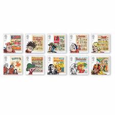 UK Comics Stamp Set MNH 2012