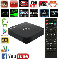 V88 Smart TV BOX Android 5.1 RK322 Quad Core 8GB WIFI HD 1080P H.265 Player