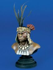 Verlinden 200mm (1/9) Zulu Warrior Bust from Anglo-Zulu War in 1879 [Resin] 1035