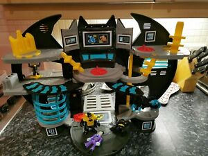 Batman Imaginext Bat Cave Playset With Figures and Bike