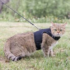 Savannah Cat Harness with Leash Adjustable Soft Mesh Best Walking F1 F2 Maine