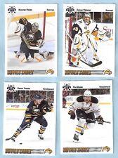 2009-10 Russian Bear Retro Buffalo Sabres Team Set (4)