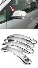 chrome mirror cover &CHROME DOOR HANDLE COVER 4 DOOR FİTS 2003-2009 vw TOURAN