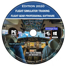 2020 simulateur de vol pilote de Formation Professionnelle PC Windows MAC OSX DV...