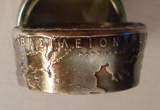 Custom Handmade Map Of Greece Ring Sizes 9 to 17 in half sizes