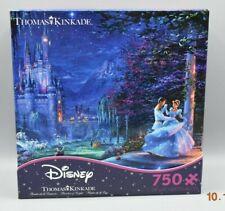Thomas Kinkade Disney Cinderella Dancing Starlight Puzzle 750 Piece Ceaco