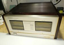 Onkyo Grand Integra M-510 Stereo Power Amplifier - Needs Work - Non-Working