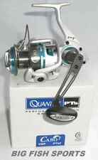 QUANTUM CABO PTs Spinning Reel #CSP80PTSE FREE USA SHIPPING!  NEW! 4.9:1 Ratio
