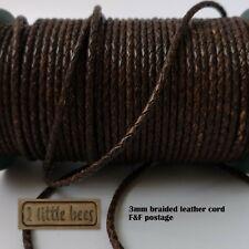 Cinghia in pelle a nastro flechtband 2200 x 10 mm naturale conciata punzieren