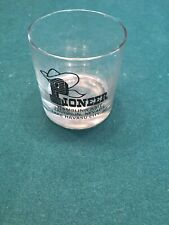 PIONEER HOTEL & GAMBLING HALL Laughlin NV Casino on-the-rocks bar glass FREE S/H