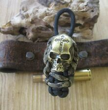 Biker Messer  Schlüsselanhänger old school  MC Skull Totenkopf Devil Paintball