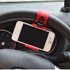 New Mini Car Mobile Phone Holder Steering Wheel Buckle Navigation GPS Support