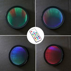 Multicolour Sensory Light Autism Tunnel Mirror Wall Relaxing Calm Lamp LEDMirror