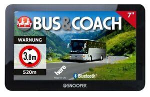 Snooper S6900 Bus&Coach PRO Bus-Navigationssystem 7 Zoll (17,78 cm) Display