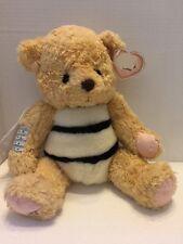 "Cherished Teddies Beatrice Bear Plush 13"" Stuffed Animal Bumble Bee Enesco"