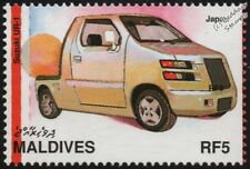 1995 SUZUKI UR-1 Mint Automobile Japanese Concept Car Stamp (1997 Maldives)