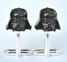 LEGO® STAR WARS DARTH VADER MINIFIG CUFFLINKS MENS WEDDING UNIQUE GIFT PRESENT