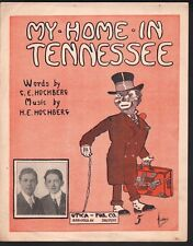My Home In Tennessee 1913 Large Format Sheet Music
