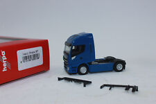 Herpa 309158 Iveco Stralis Highway XP, Blue 1:87 New Original Packaging