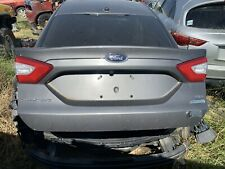 2013 2014 2015 2016 FORD FUSION TRUNK LID W/CAMERA/LIGHTS OEM USED