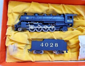 Aristo Craft HO Scale 2-8-2 Mikado All Metal Steam Locomotive Model Train-Frisco