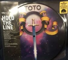 "TOTO HOLD THE LINE / ALONE 10"" PIC DISC BLACK FRIDAY RSD 2017 VINYL LP 40TH ANN"