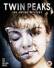 Twin Peaks The Entire Mystery Complete TV Series + Fire Walk With Me Bluray NEW