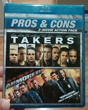 Armored/Takers (Blu-ray Disc,2016,2-Disc Set) Brand New (Sealed) - Free Shipping