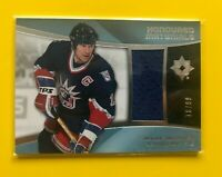 Mark Messier - 2015-16 Ultimate Collection Honoured Materials jersey /99 Rangers