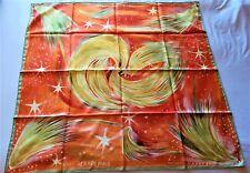 "Hermes Feux de Ciel Silk Scarf by Kwumi Sefedin 35"" Square"