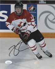 Team Canada Connor McDavid Autographed Signed 8x10 NHL Photo JSA COA A